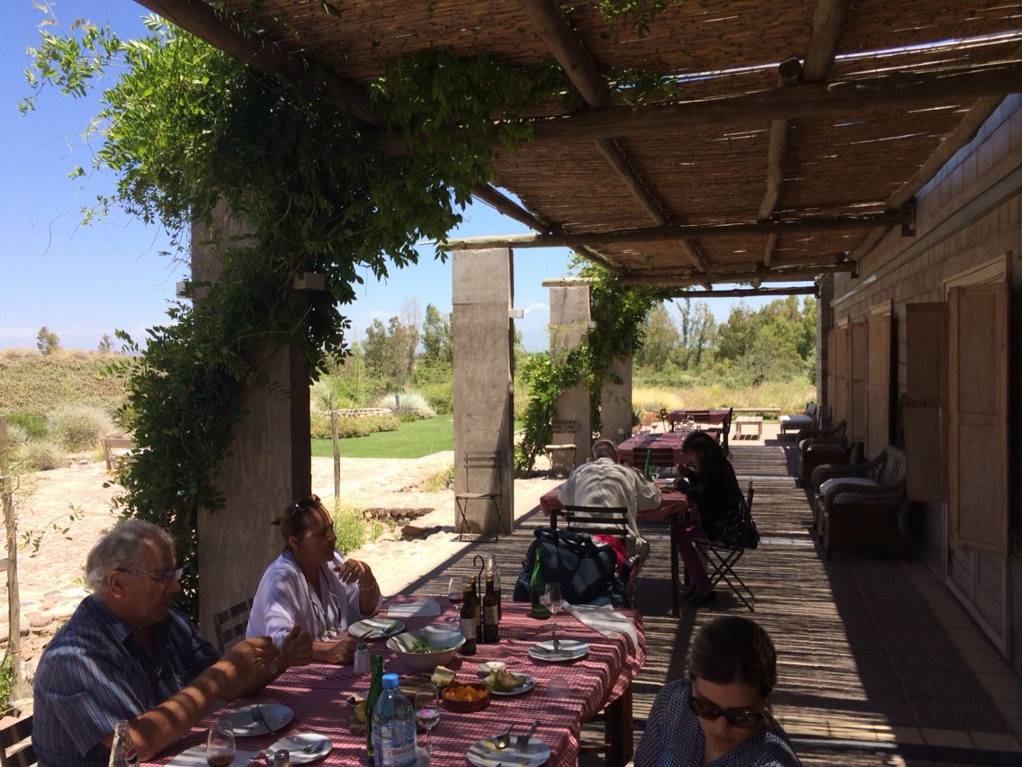 Varanda vinícola Zuccardi