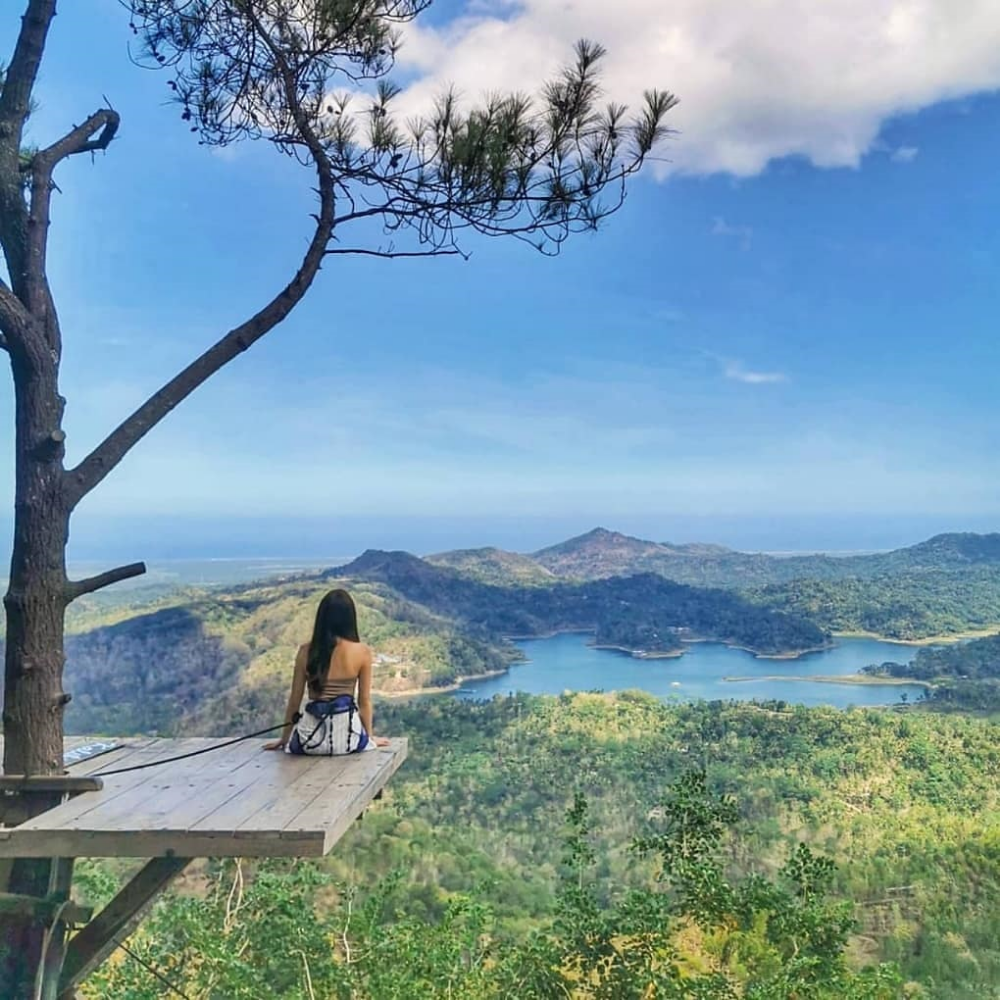 Wisata Alam Kalibiru Foto Wisata Pemandangan Tempat