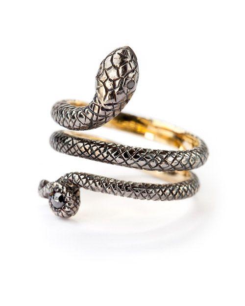 Sylva & Cie Snake Ring