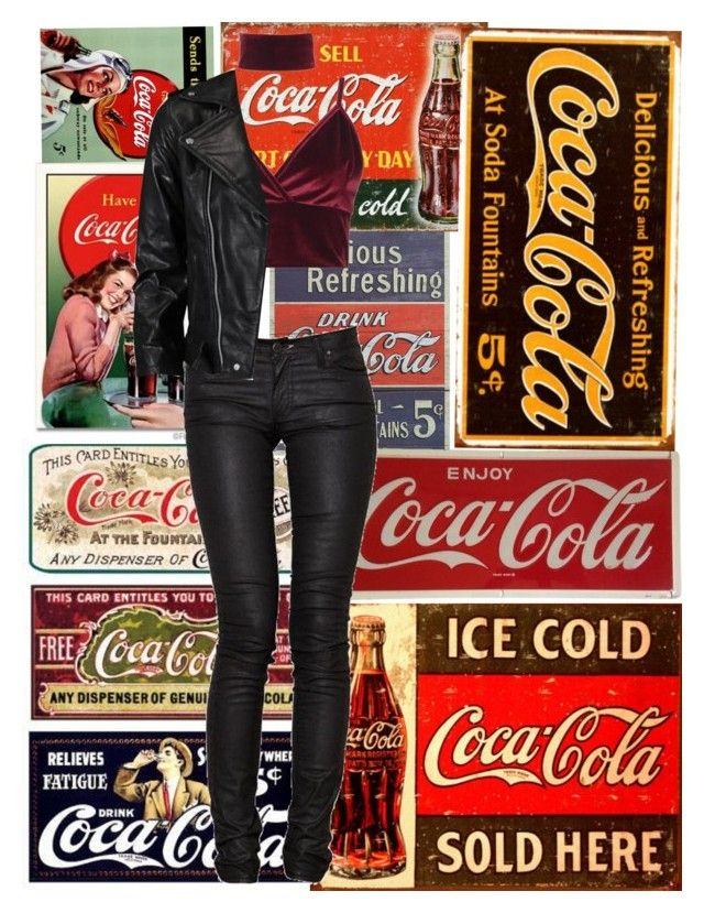 """Coca-Cola"" by daddyslittleslut ❤ liked on Polyvore featuring Fountain, Agent Provocateur, Boohoo, Phase Eight and VIPARO"
