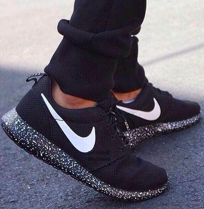 Nike Black Shoes Women Tumblr