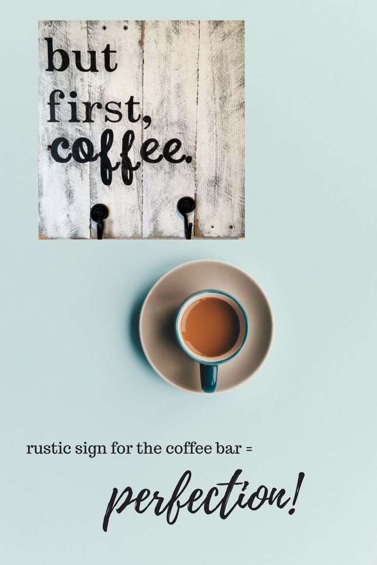 I love this rustic coffee sign It s currently hanging over my