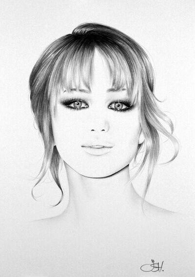 Jennifer Lawrence: photo = fan art