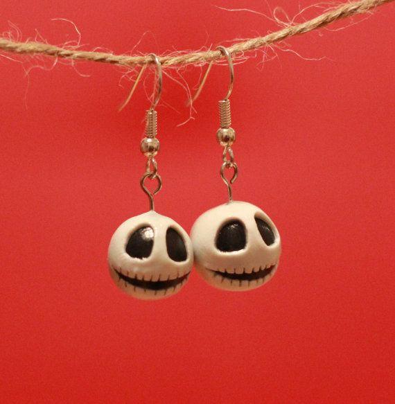 Jack Skellington Charm Earrings *DIY*