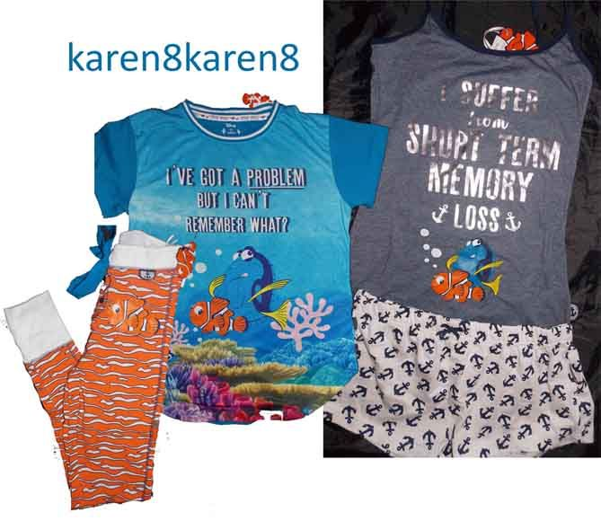 PRIMARK DISNEY PIXAR FINDING NEMO BABY BOY SHORTS AND T SHIRT SET