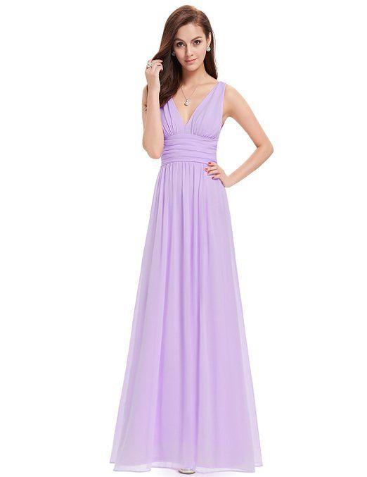 Ever-Pretty Women\'s HE09016BK Double V Elegant Evening Dress: Amazon ...