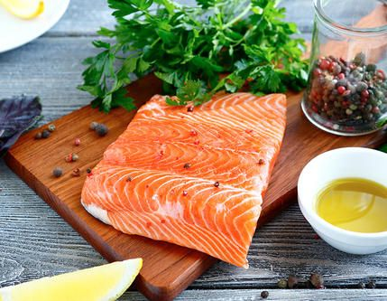 If you're sticking to a low-carb diet, opt for salmon, which is rich in omega-3s.