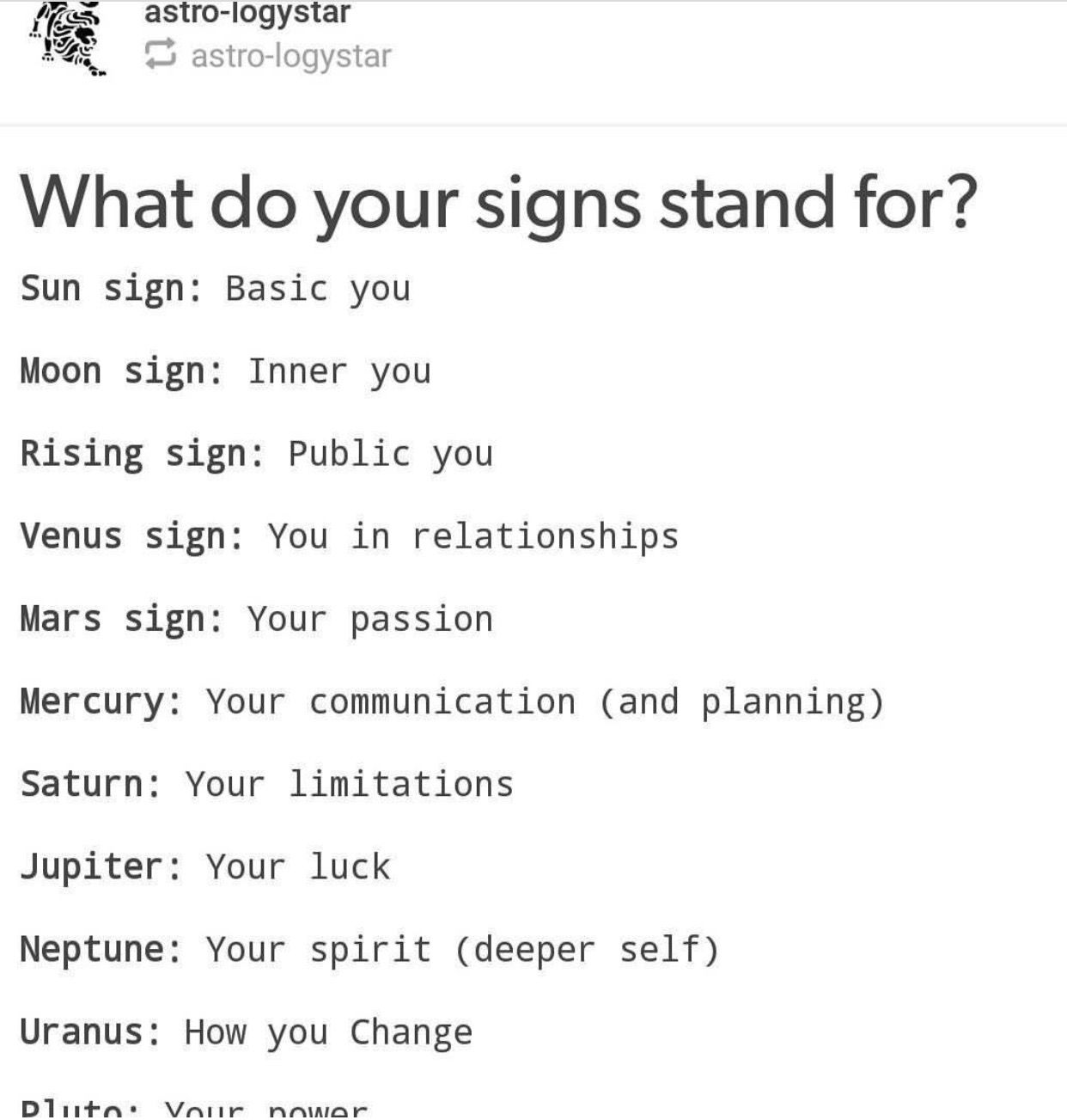 sun sign moon sign rising sign horoscope