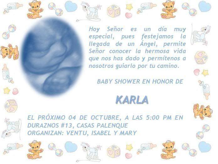 Invitaciones para baby shower para modificar | Tarjetas para Baby ...
