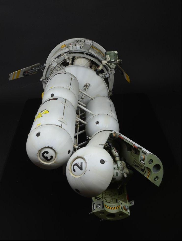 Ki-Yeol Yoon - Kitbash spaceship model  | Scifi and Space