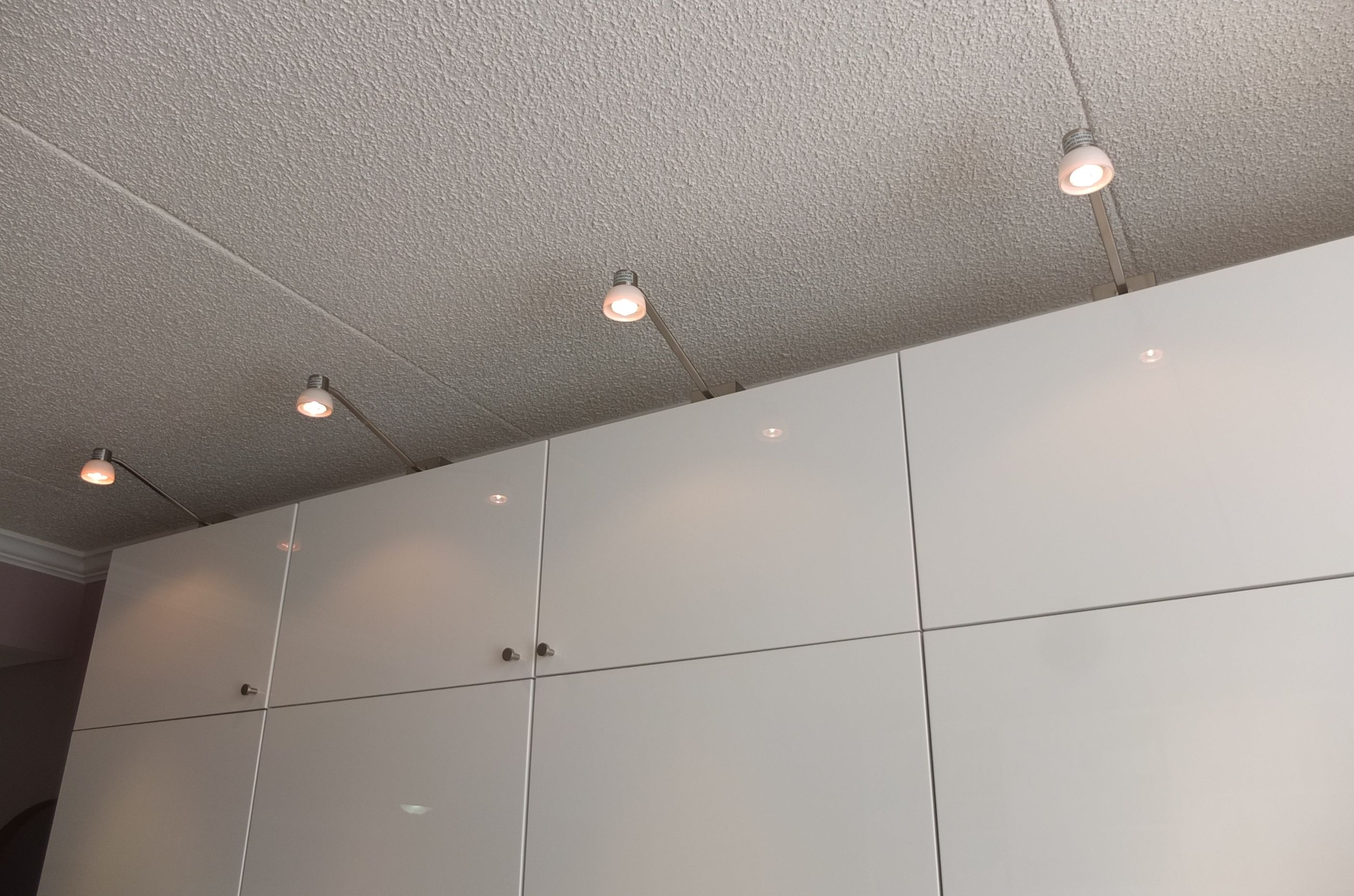 besta lighting. adding ikea stockholm cabinet lighting to the marshalleck besta unit assures they can find what besta