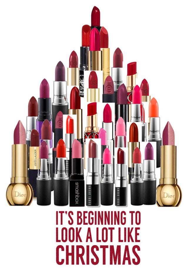 Lipstick Christmas Tree
