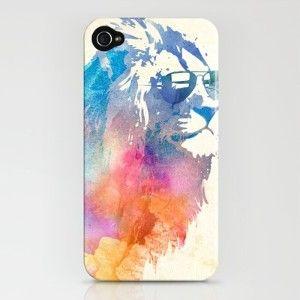Sunny Leo iPhone Case by Robert Farkas