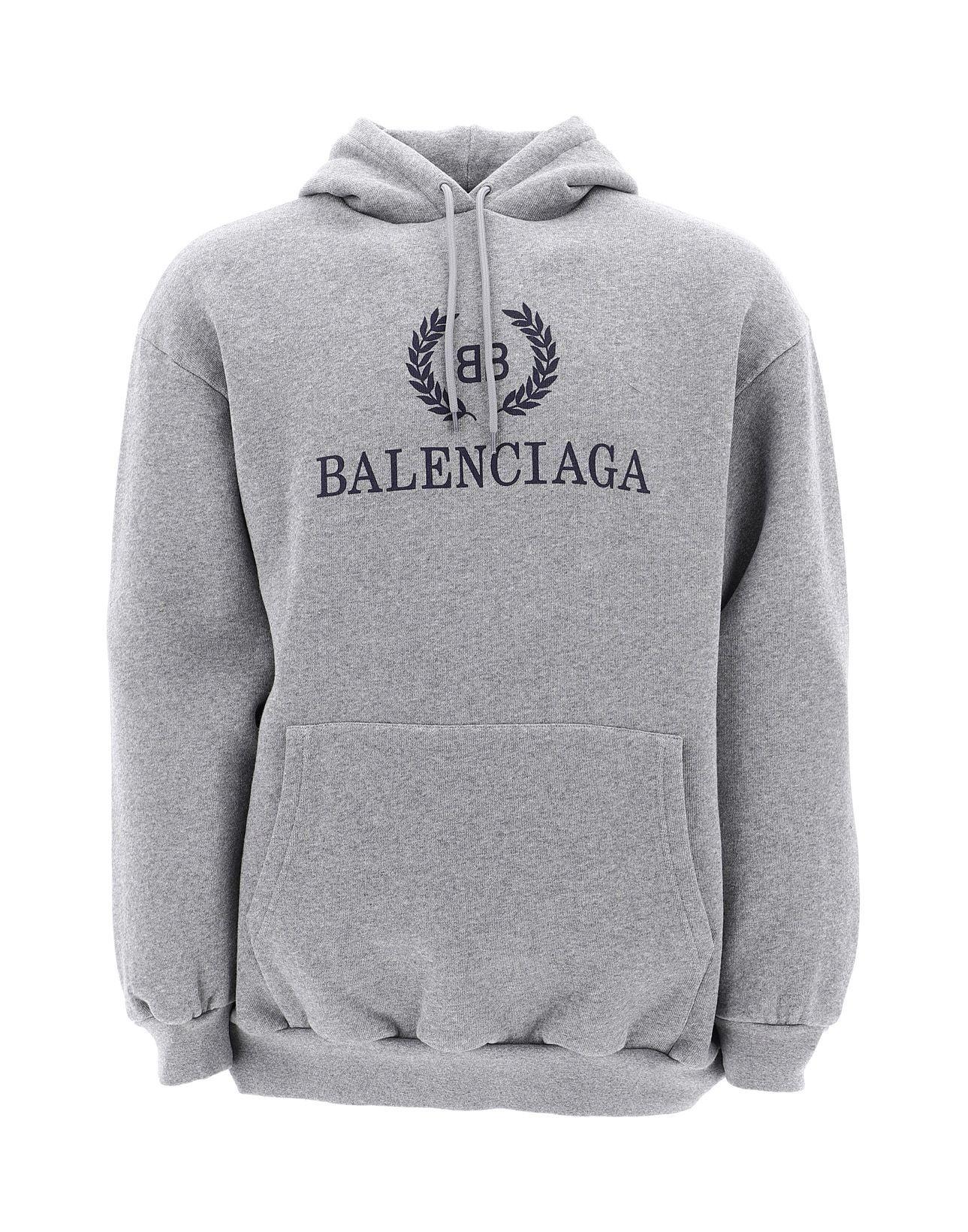 Balenciaga Oversized Logo-print Fleece