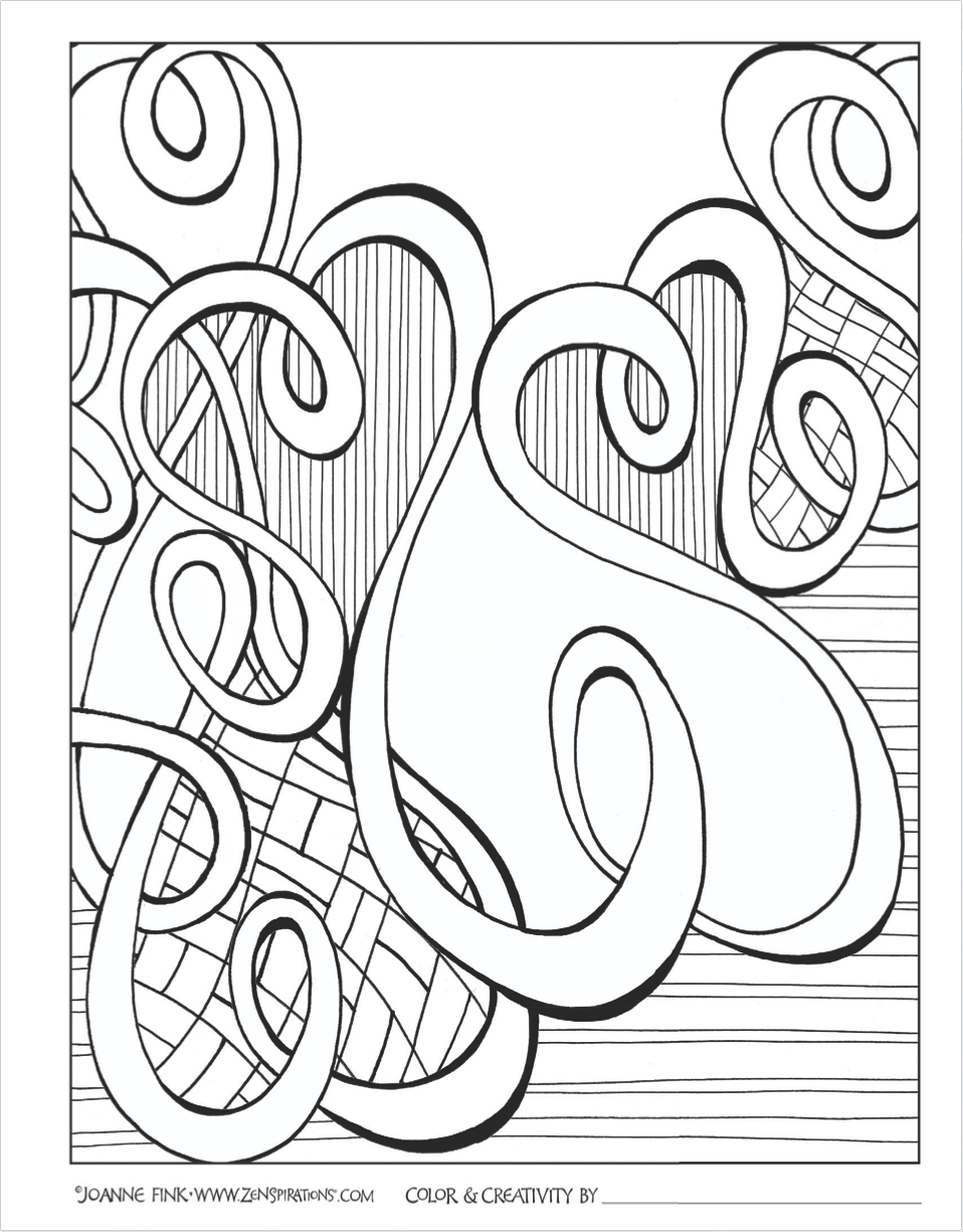 Download this page from the Zenspirations Create, Color, Pattern ...