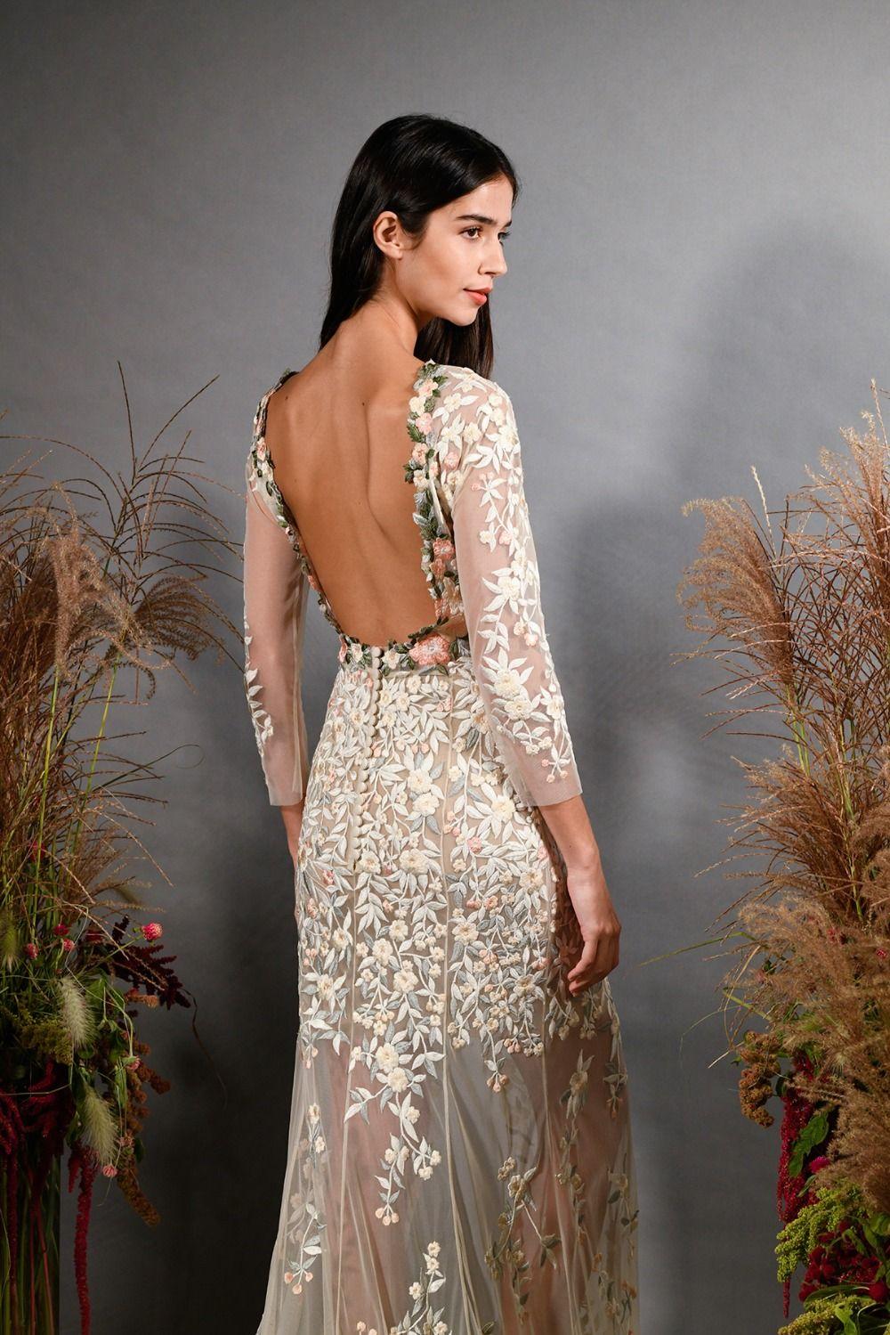 Hermione De Paula Fall 2019 Bridal Collection Wedding Dress Outfit Bespoke Wedding Dress Perfect Wedding Dress [ 1499 x 1000 Pixel ]