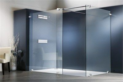 shower glass partition | small bathroom styles, modern