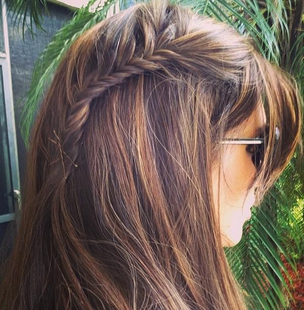 Lace Fishtail Braid - Hairstyles and Beauty Tips   Beauty ...
