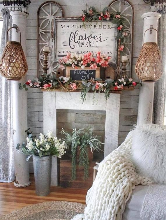 Flower Market//Home Decor//Wooden Sign//Handmade//Interior Decorating//Reclaimed Wood//Cottage//Farmhouse