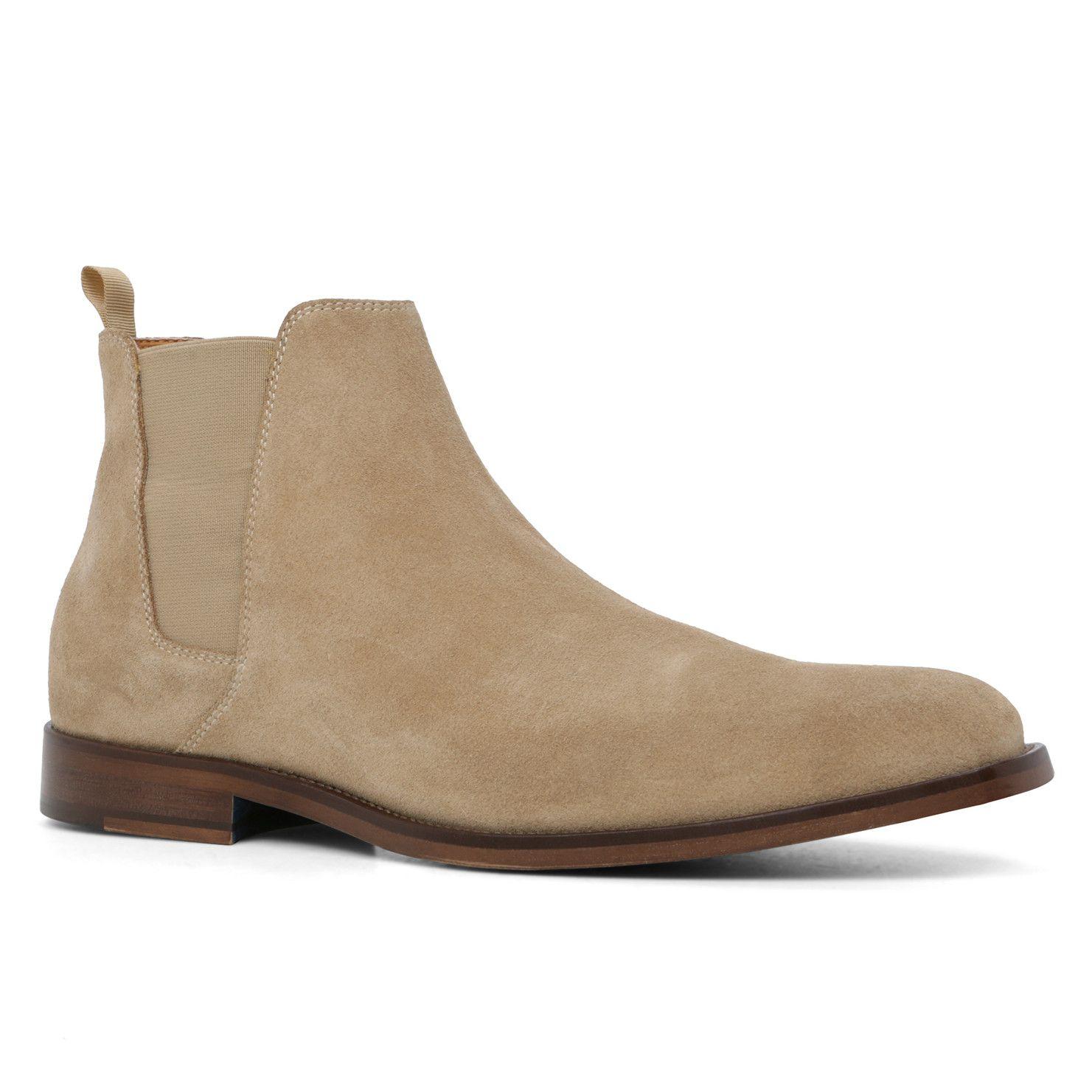 Buy Excellent Shoe Men ALDO Men s Vianello Leather Chelsea Boots Grey