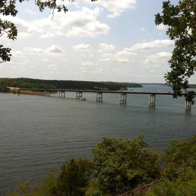 View of Toll Bridge, Lake of The Ozarks