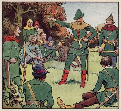 Robin Hood and his Merry Men | Robin hood, Robin, Swans art