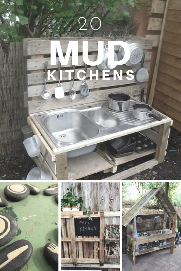 Pinterest Mud Kitchen Ideas