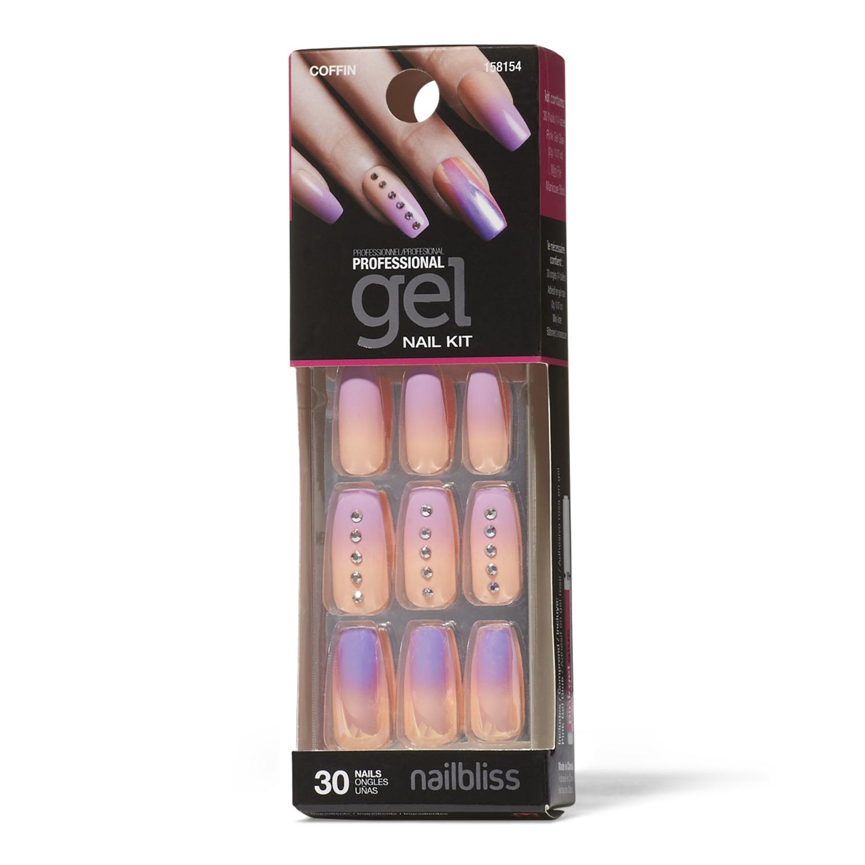 Tropical Paradise Gel Nail Kit by Nail Bliss