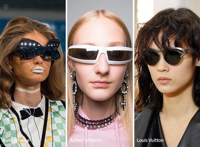 af42c06e0e217 Spring  Summer 2017 Eyewear Trends  Futuristic Sunglasses