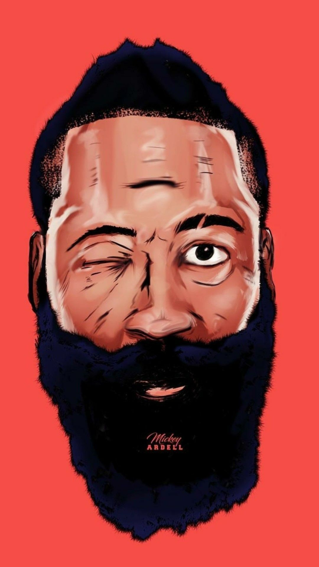 Rocket James Harden Wallpaper Home Screen (2020) James