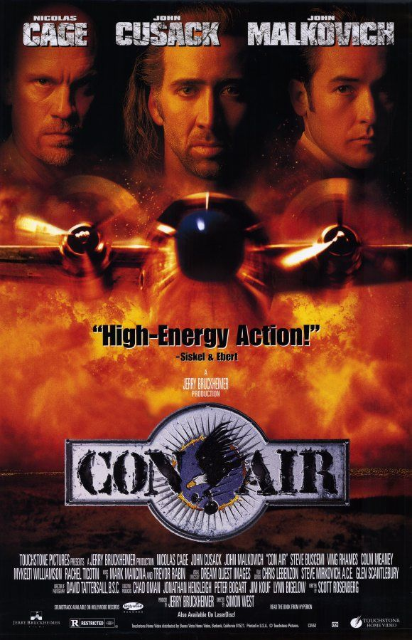 Http Www Joblo Com Posters Images Full 1997 Con Air Poster1 Jpg