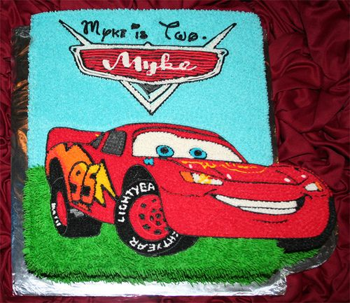 Lightning McQueen Cake Template cakepinscom Recipes To Try