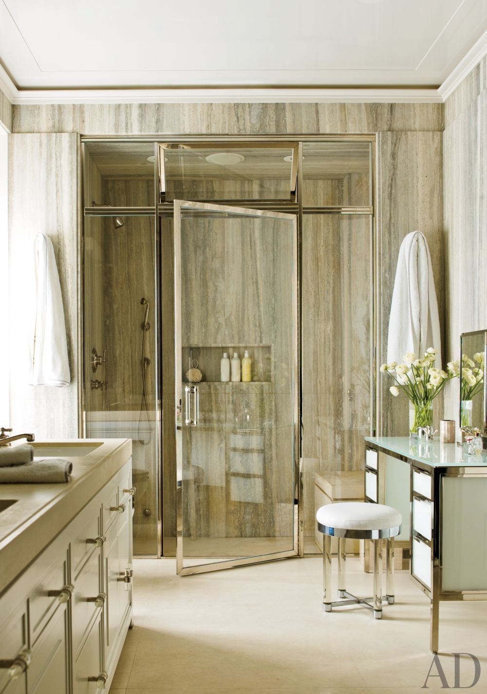 contemporary bathroompamplemousse design and ferguson
