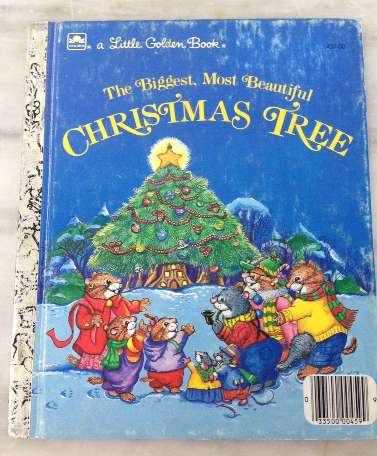 Vintage Little Golden Book The Biggest, Most Beautiful