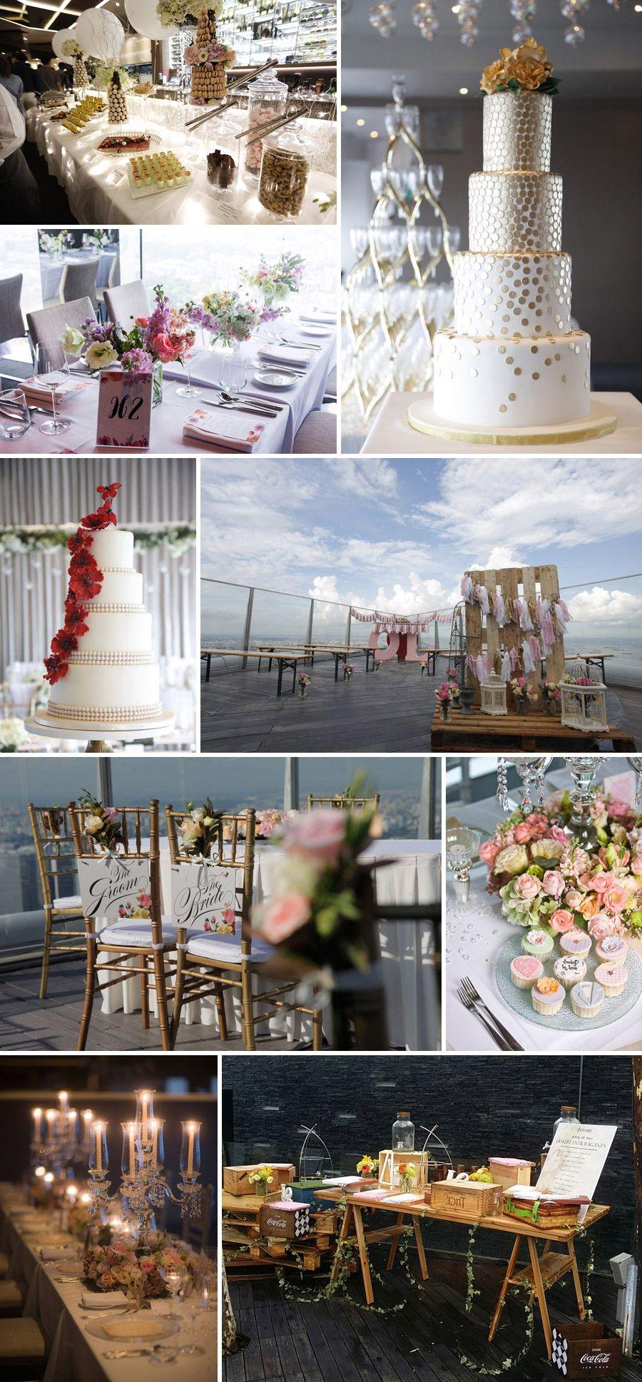 Beautiful decor cake and wedding favours