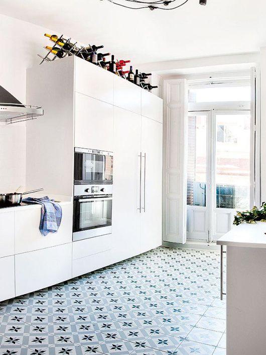 Vintage Modern Twist On Tile Sfgirlbybay In 2020 Kitchen Cabinet Remodel White Modern Kitchen White Kitchen
