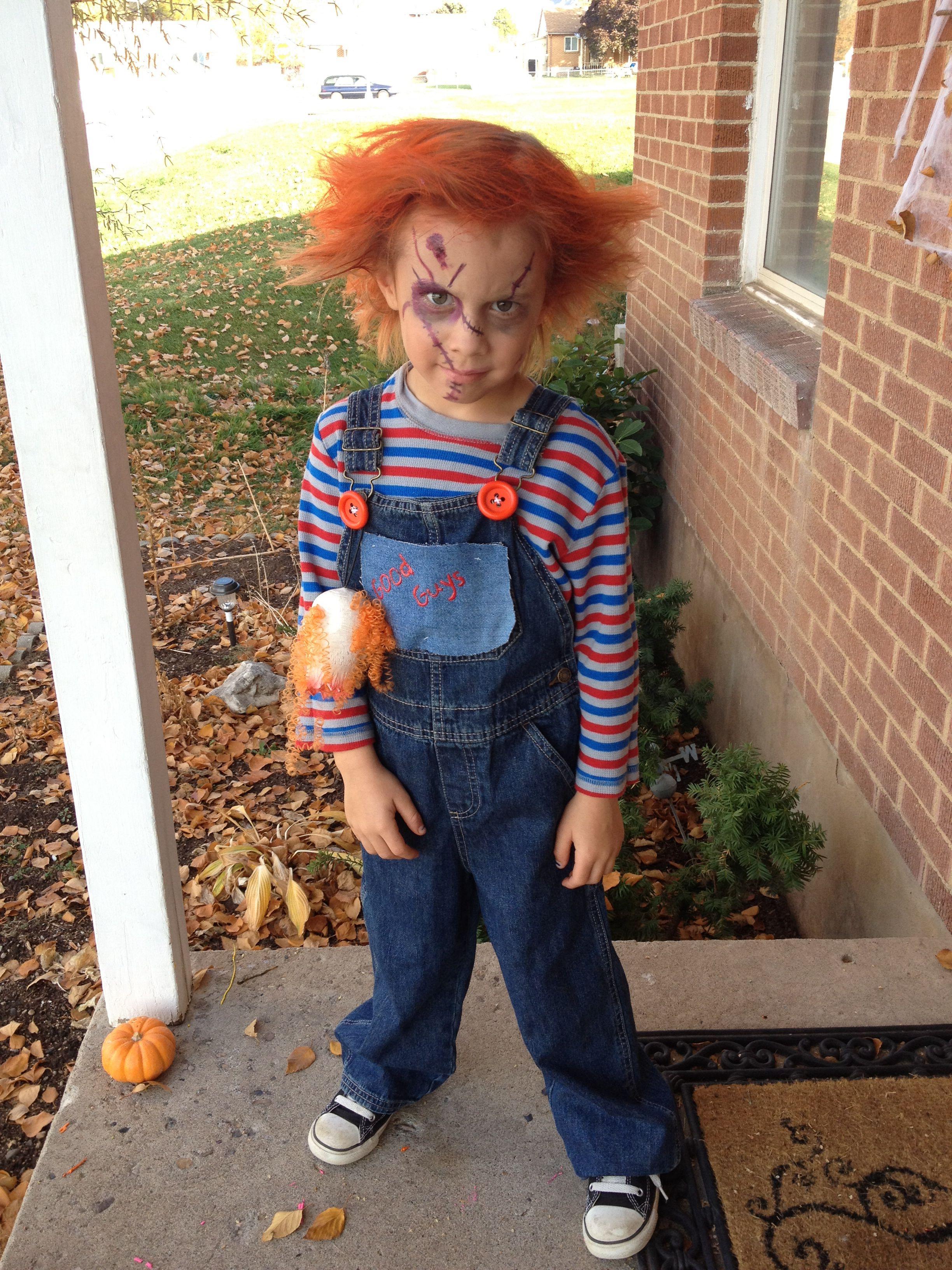 Chucky Halloween costume Kids costume  sc 1 st  Pinterest & Chucky Halloween costume Kids costume | kids | Pinterest ...