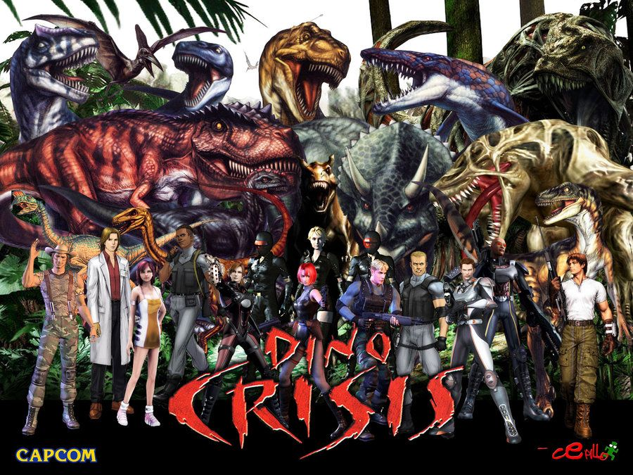 Dino Crisis Wallpaper By Cepillo16 On Deviantart Cultura Pop Imagem De Jogos