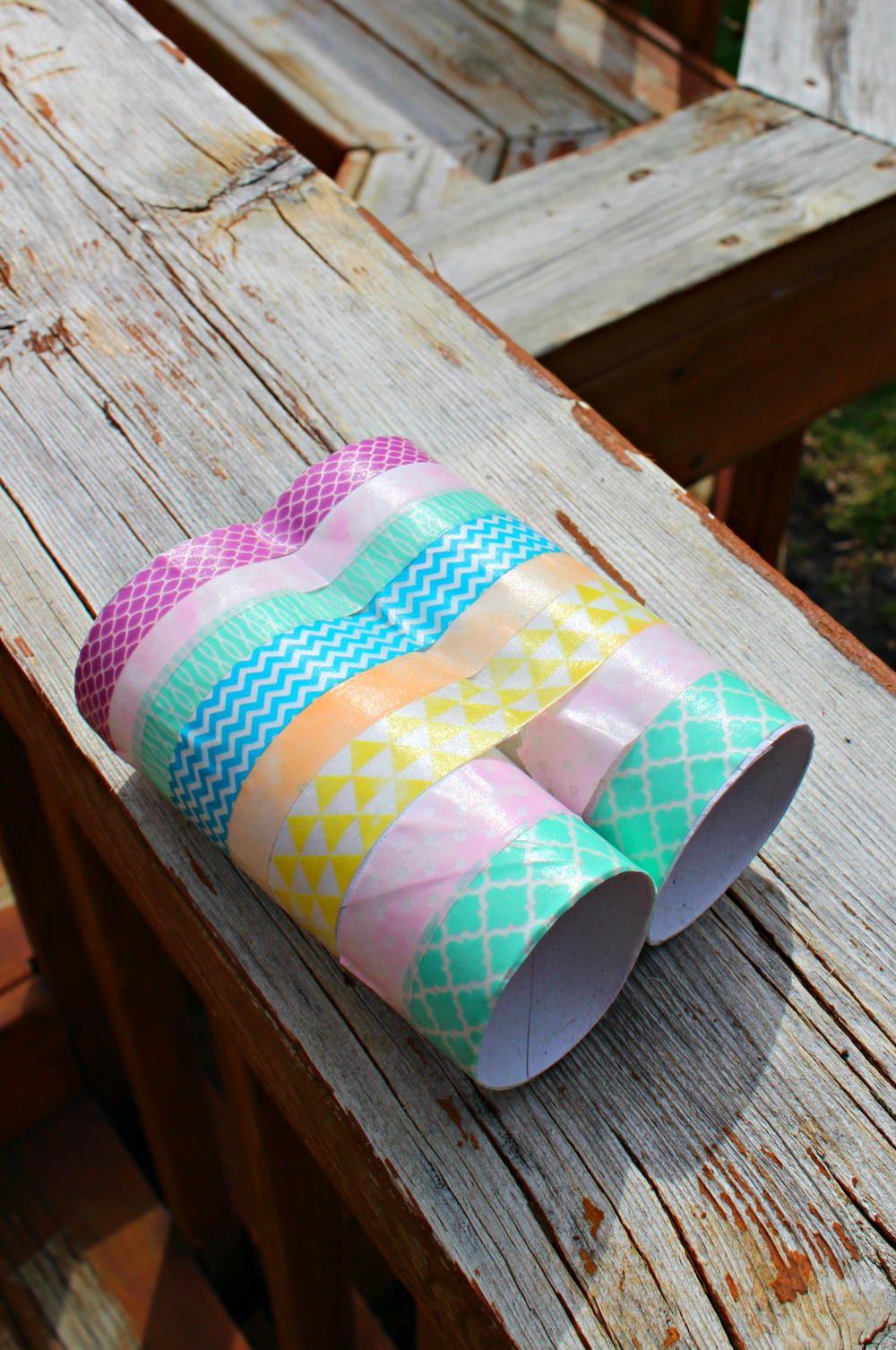 Binocular Craft For Kids Binocular Craft Crafts For Kids