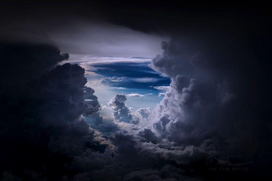 La Cabina Meaning : El piloto holandés christiaan van heijst captura las increíbles