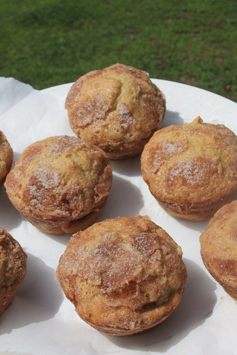Apple Sour Cream Muffins Recipe Sour Cream Muffins Vegan Desserts Fruit Recipes