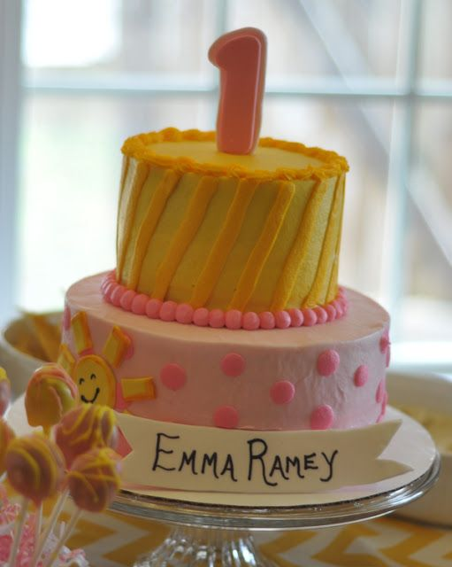 "Emma Ramey's ""You Are My Sunshine"" First Birthday Party 