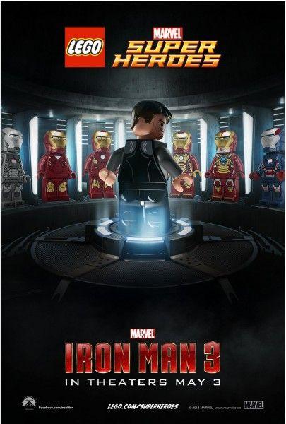 Lego Iron Man 3 Poster!