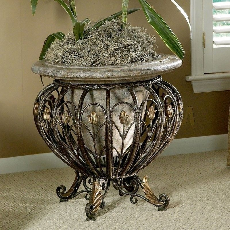 Heritage Indoor/Outdoor Pedestal Plant Stand | Plants and Plant ...