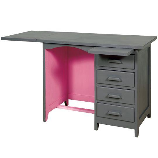 peindre en deux couleurs? Les Pensées de Violette - Bureau de - Peindre Table De Chevet