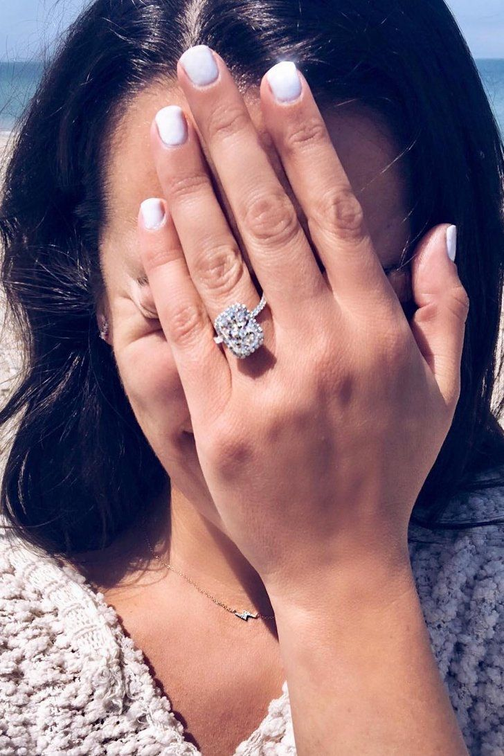 Lea Michele\'s Massive Engagement Ring Is So Stunning, It\'s No Wonder ...