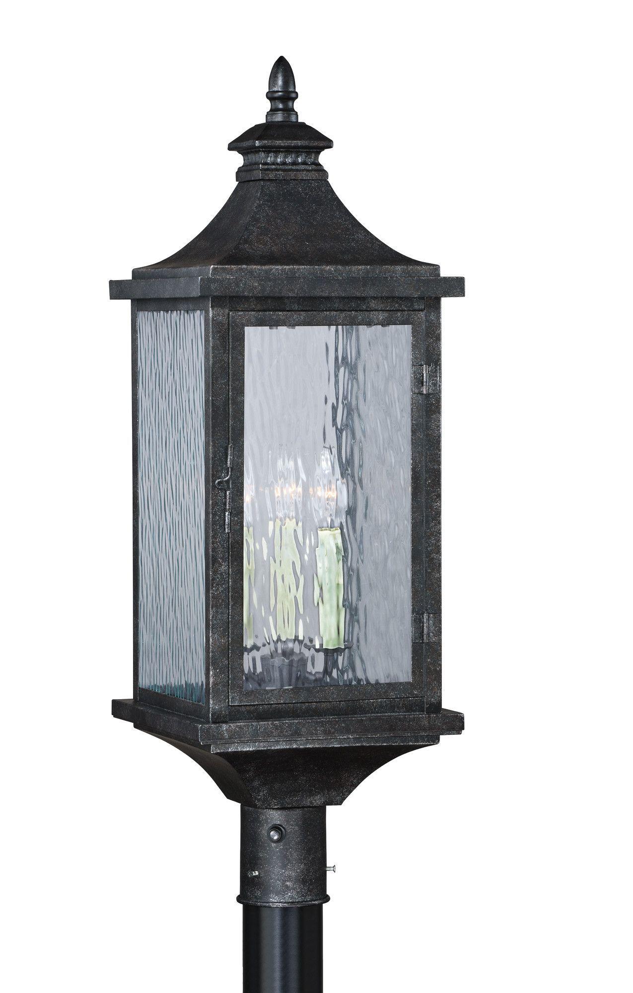 Cavanaugh 3 Light Outdoor Post