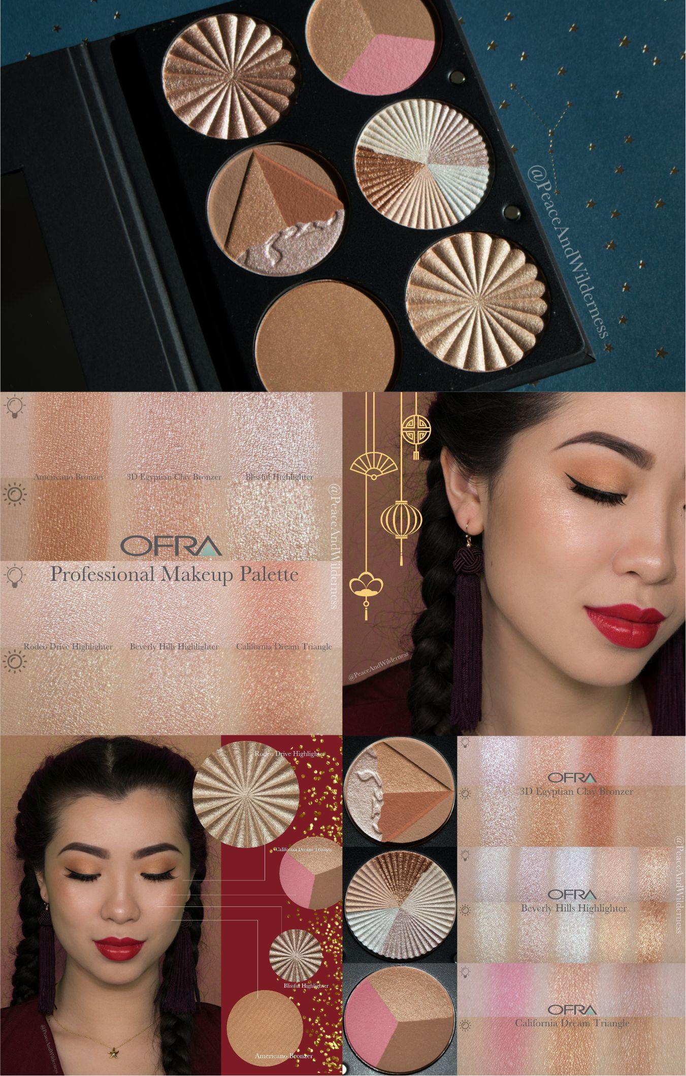 Lunar New Year Makeup ⋆OFRA Professional Makeup Palette