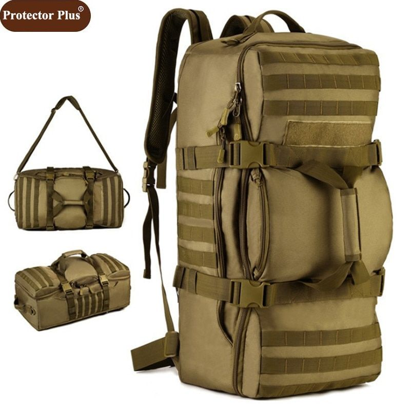 Protector Plus New 60 L WaterProof Travel Bag Business Men Backpack Large  Capacity Women Shoulder Bags 2018 Free Shipping D076 Review c7ce56d8b43b2