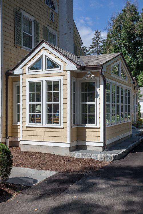 3rd Floor Addition Home Design Ideas Renovations Photos: Conservatory - Sunroom Addition #Sunroom / #homeoffice